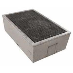 "Oldcastle Precast B1017BOX Underground Box, 10"" x 17"" x 12"", Open Base, Reinforced Concrete"