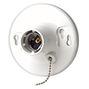 8827CWI 660W LAMPHOLDER PULL CHAIN