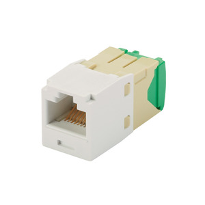 Panduit CJT688TGAW Mini-Com Module, Cat 6, 28/30 AWG, UTP,