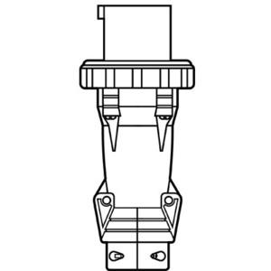 Pass & Seymour PS520P9-W P/S PLUG 5W 20A 3PH 120/208V WT