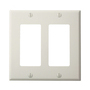 80409-NW WHITE 2G DECORA NYLON PLATE