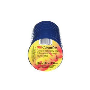 """COLOURFLEX TAPE BLUE 3/4"""" X 60FT"""