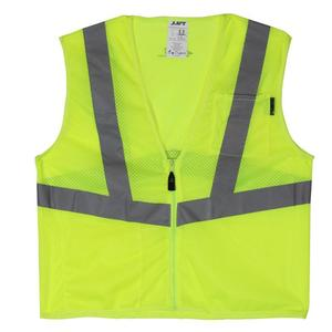 Lift Safety AVV-10L1L Safety Vest, Viz-Pro - Size: X-Large, Yellow