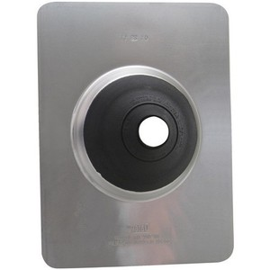"M & W Electric 2900 Roof Flashing with Neoprene Collar, Pipe: 2"", Base: 10-3/4 x 14-1/2"""