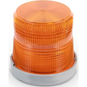 Edwards 96BA-N5 Beacon, Type: Xenon Flashing, 120V AC, 0.1A, Amber, Non-Metallic