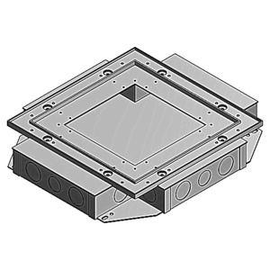 Steel City 668-S SC 668-S Shallow Floor Box