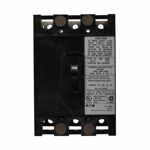 Eaton CC3150N Type CC Molded Case Circuit Breaker