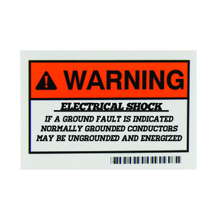 HellermannTyton 596-00663 Ground conductors Energized