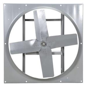 "Airmaster Fan H24V836-2 24"" Direct Drive Fan, 1 HP, 1750 RPM, 230/460 Volt, 3 Phase"