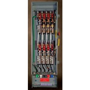 Eaton DT325NGKLC Safety Switch, Double Throw, Heavy Duty, 400A, 3P, 240VAC, NEMA 1
