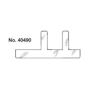 Mulberry Metal 40490 Switch Box Supports, Long Legs, Metallic