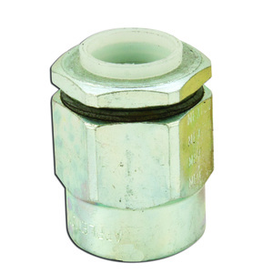 "Appleton HUB-50 Conduit Hub, Size: 1/2"", Insulated, Steel"