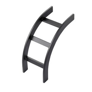nVent Hoffman LOB12BLK Ladder Rack, Outside Bend, 12""