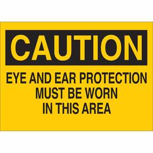 25199 PROTECTIVE WEAR SIGN