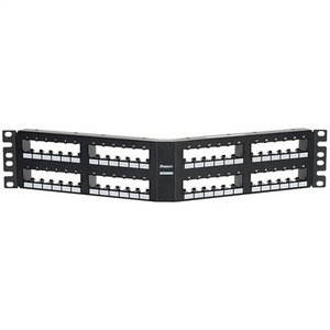 Panduit CPPA48FM6VNSBL Mini Com Angled 48 port Flush Mount 6 pa