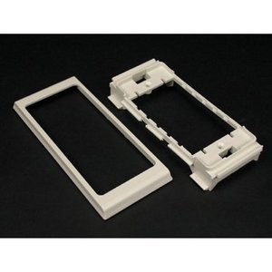 Wiremold 40N2F31V Non-Metallic Device Bracket & Trim Ring 40N, Ivory