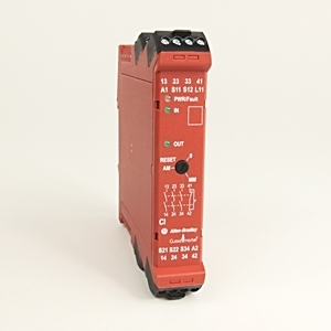 Allen-Bradley 440R-S13R2 Relay, Safety, Compatibility Input, 1 Dual Channel, 1NC Auxiliary