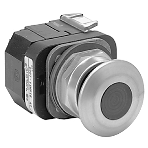 Allen-Bradley 800T-FXNP16AA7 Push Button, 3 Positon, Illuminated, Amber, 30mm, 120VAC
