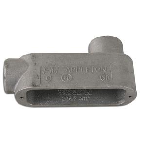 "Appleton LB29 Conduit Body, Type LB, Size: 3/4"", Form 9, Aluminum"