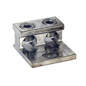 Milbank K1350 Mechanical Lug, 2-Conductor, 1-Hole Mount, Aluminum, 6 AWG - 350 MCM