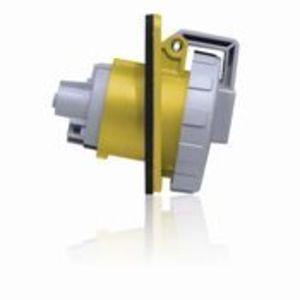 320R4W RECPT WTITE PIN/SLEV 2P3W 20A125V
