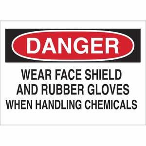 25222 CHEMICAL & HAZD MATERIALS SIGN