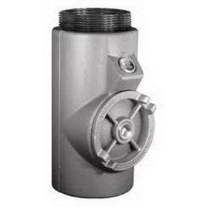 """Appleton EYM-400 Sealing Fitting, Vertical/Horizontal, 4"""", Explosionproof, Malleable"""