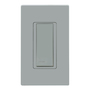 WSS0S-S9G SINGLE ROCKER SW GRAY