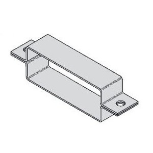 "Eaton B-Line 9A-9034-W/SS6 Wrap Around Cover Clamp, for 4"" Wide Channel, Aluminum"