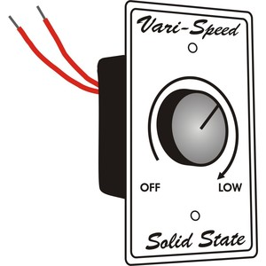 Airmaster Fan 485210 Variable Speed Control Switch for Airmaster Fans