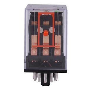 GE CR420KPC0334 Relay, 11-Pin, 3PDT, 24VDC Coil, Type K, LED Option