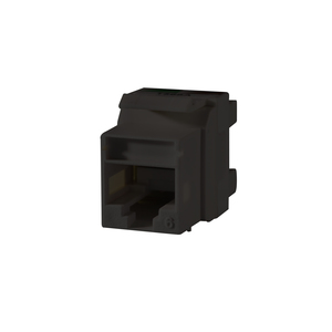 Ortronics KS6A-00 Snap-In Connector TechChoice CAT 6 Black