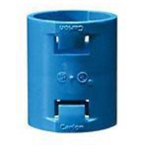 """Carlon A240E ENT Coupling, 3/4"""", PVC, Clor: Blue"""
