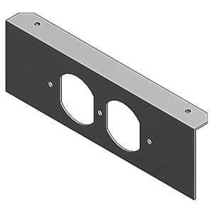 Steel City 668S-1RP 1G DPLX PLATE