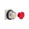9001KR24R 30MM MUSHROOM OPERATOR RED