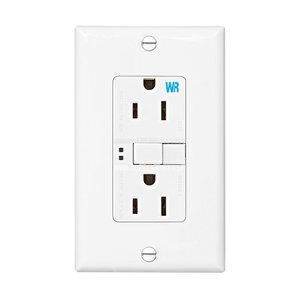 Eaton Wiring Devices WRSGF15W CWD WRSGF15W GFCI WR ST Duplex 15A