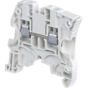 Entrelec 1SNK506010R0000 Terminal Block, Feed Through, 6 mm, Type: ZS6, Gray