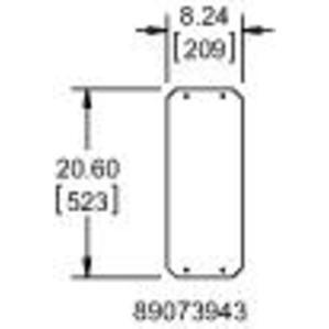 Hoffman WFHD3GP Gland Plate, Bulletin A3rhd (weatherflo Hd Enclosures - Weatherflo Hd Enclosures)