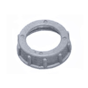 "Arlington 445 Conduit Bushing, Insulating, 2"", Threaded, Plastic"