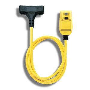 Technology Research 14880-023 GFCI PLUG PROTECTED TRI CORD 2FT
