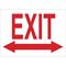 22460 DIRECTIONAL & EXIT SIGN