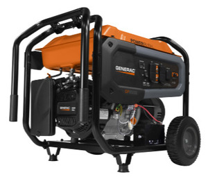Generac 7682 GP6500E 6500 WATT ELECTRIC START PORTABLE GENERATOR 49 STATE