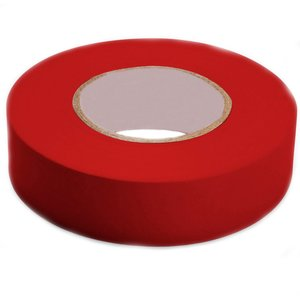 "3M 1400C-RED Economy Grade Electrical Tape, Vinyl, Red, 3/4"" x 66'"