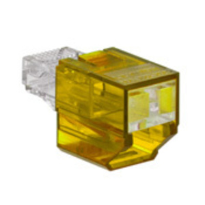 SRJPB-Y YL PORT BLOCKER SECURE RJ 1= 12