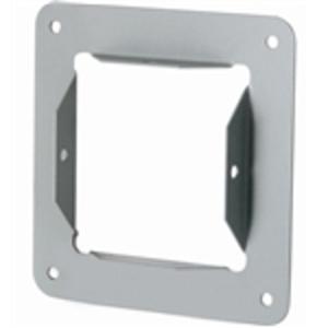 "Hoffman F1010GPA Wireway Panel Adapter, Type 1, Lay-In, 10"" x 10"", Steel, Gray"