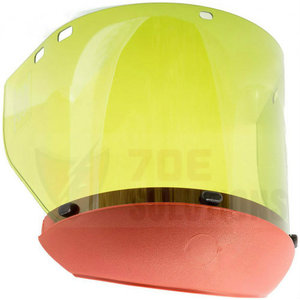 Salisbury AS1000PC Face Shield with Chin Cup