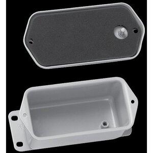 """nVent Hoffman A403DSC Junction Box, NEMA 12, Flat Screw Cover, 4-1/2"""" x 2.88"""" x 2.62"""""""