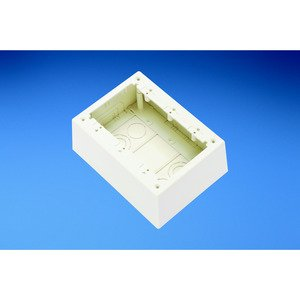 Panduit JBP3DEI 3-Gang Junction Box, Non-Metallic, Elect