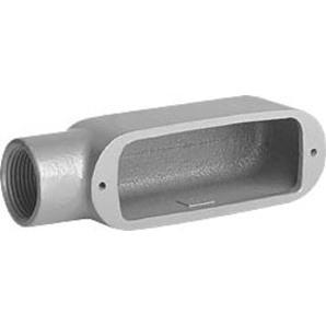 "Hubbell-Killark OE-1 1/2"" Alum Conduit Body Type E"