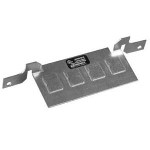 Wiremold DTB-2-4TKO Communication Bracket, For Use With RFB4 Series Type Boxes